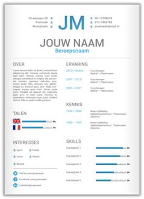 Originele Cv Sjabloon 1000 Images About Cv Templates Mooicv 1pg On Cv Design Cv Template And Cv Format