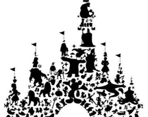 disney castle wall sticker princess wall decal etsy