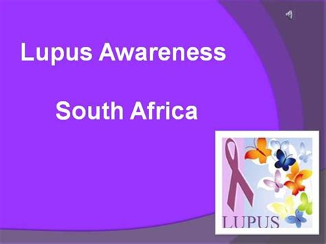 sle templates for powerpoint presentation lupus awareness authorstream