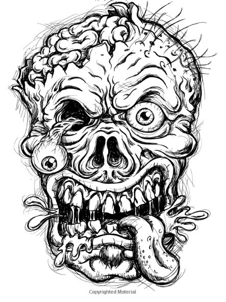 horror villians coloring pages for adults horror best