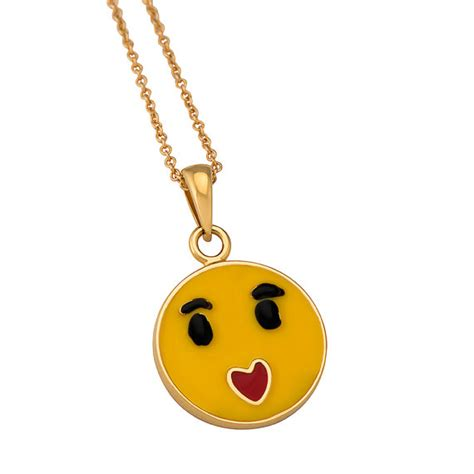 emoji necklace items similar to emoji be loved charm necklace on etsy