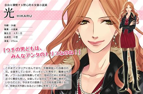 hikaru brothers conflict brothers conflict characters マナちゃんの部屋
