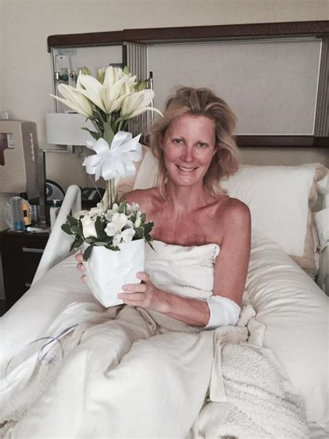 in sandra lees post surgery photos a sensitive side of sandra lee loses 15 pounds in 5 days after double