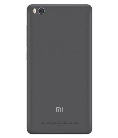 Spare Part Xiaomi Mi4i xiaomi redmi mi4i cover by qube grey plain back