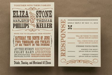 wording for western wedding invitations western wedding invitation rectangle potrait ivory casual