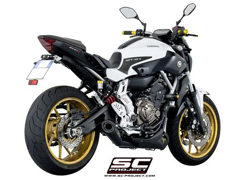 Yamaha Mt 07 Aufkleber by Sc Project Shop Yamaha Mt 07 13 16 System 2 1