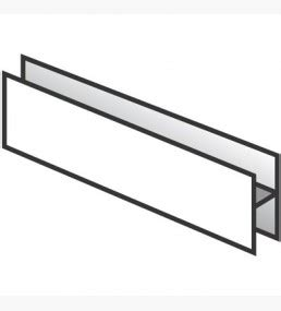 section h h section joint for hollow soffit boards soffit hollow