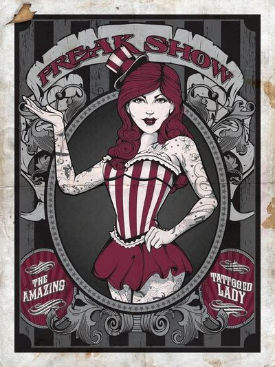 freakshow tattoo best 25 freak show costumes ideas only on