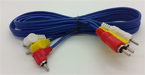 Kabel Rca 3 K 3 Kitani Panjang 10 Meter jual kabel rca 3 k 3 merk kitani cable rca