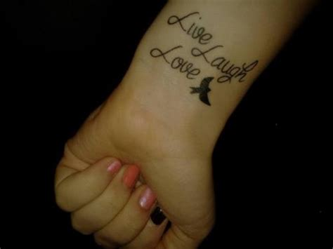 tattoo quotes live laugh love love tattoos and designs page 55