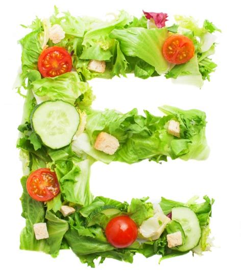 vegetables 11 letters tasty letter e made with fresh vegetables photo free