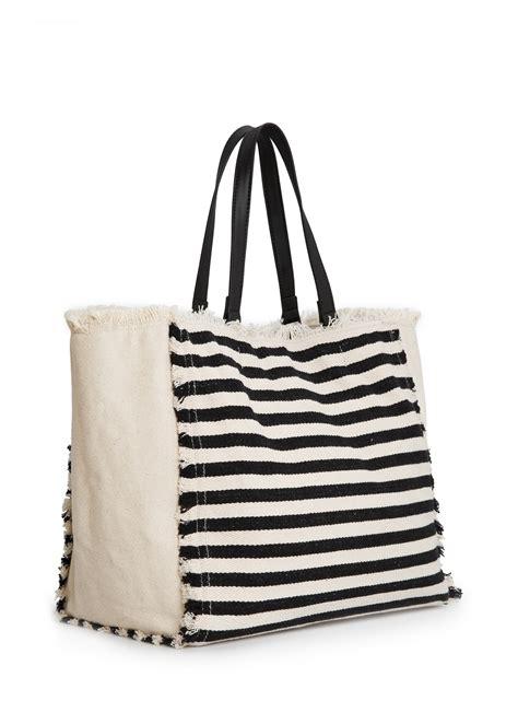 Fasion Bag Canvas striped canvas bag fashion handbags