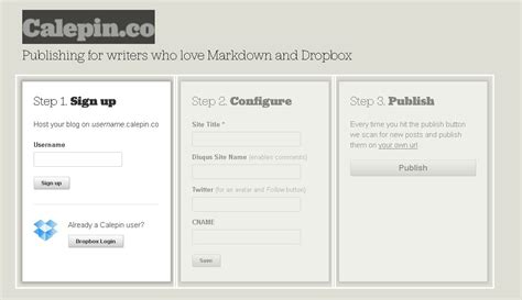 host a blog on dropbox with calepin servicios para usar dropbox como hosting de blogs guia