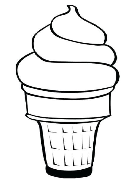 vanilla ice cream coloring pages ice cream food coloring and coloring pages ice cream cone
