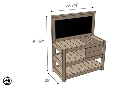dimensions of bench diy potting bench plans rogue engineer