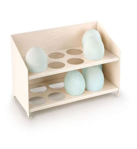 Egg Rack by Egg Storage Rack Classic Metal By Garden