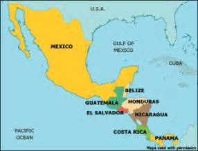map of mexico central america and south america mexico map america