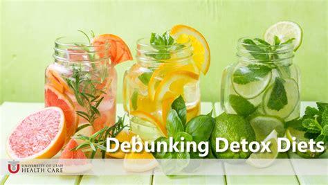 Detox Debunked by Debunking Detox Diets