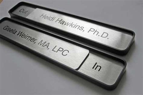 Desk Plates by Office Signs Door Signs Conference Room Signs Name