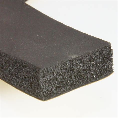 self adhesive 25 x 10mm self adhesive foam rubber strip per metre car