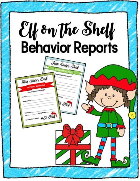 printable elf on the shelf bad behavior letter elf on the shelf printables
