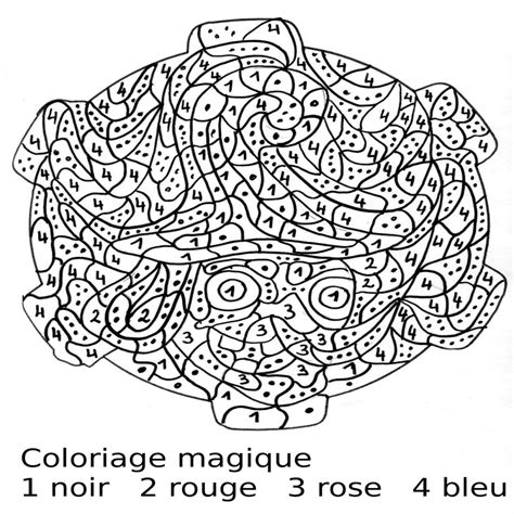 Coloriage Magique Grande Section