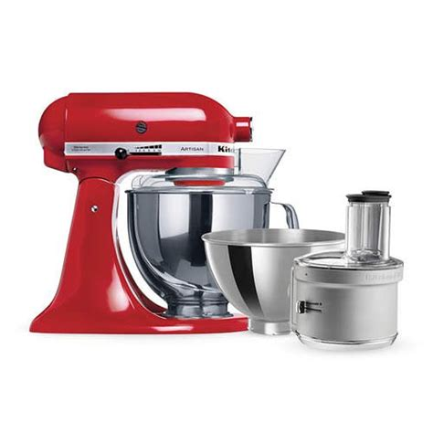 KitchenAid Artisan KSM160 Stand Mixer Empire Red w/ Food