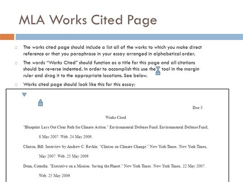 how to write a bibliography for a website mla coursework service