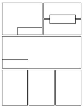 {Free} Graphic Novel (Comic Book) Templates by Mr Mosley's