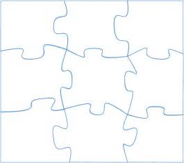Large Jigsaw Puzzle Template by Large Puzzle Template Cliparts Co