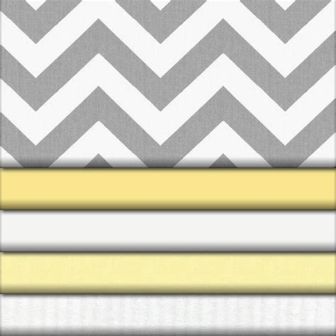 bedding fabric gray and yellow zig zag fabric collection carousel designs