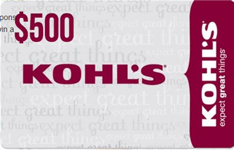 Kohl Gift Card At Walgreens - calling all moms enter to win a 500 kohls gift card savior cents