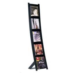 all metal magazine rack by magnuson options