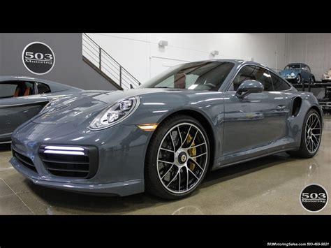 2017 black porsche 911 turbo 2017 porsche 911 turbo s graphite blue black spec