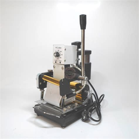 Buy Business Card Printing Equipment - pvc card sting machine embossing equipment tool gold letter printer metal number