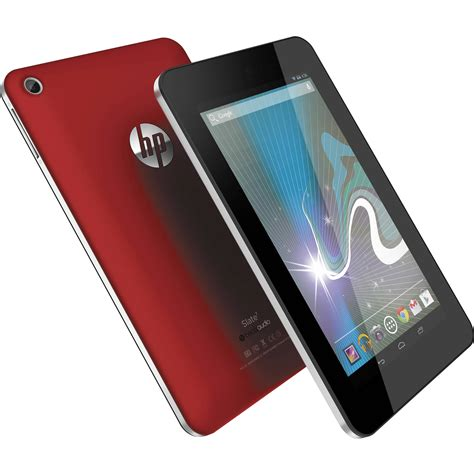 HP 16GB Slate 7 Tablet (Red) E0P96AA#ABA B&H Photo Video