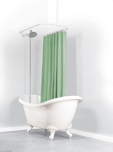 bathtub shower curtain rod shower curtain rod for clawfoot tub clawfoot tub shower