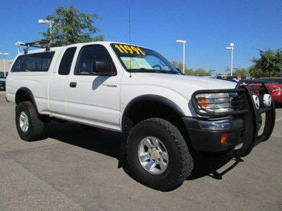 Toyota Tacoma Cer Shell For Sale Sell Used 2000 4x4 4wd White Automatic 3 4l V6 Extended