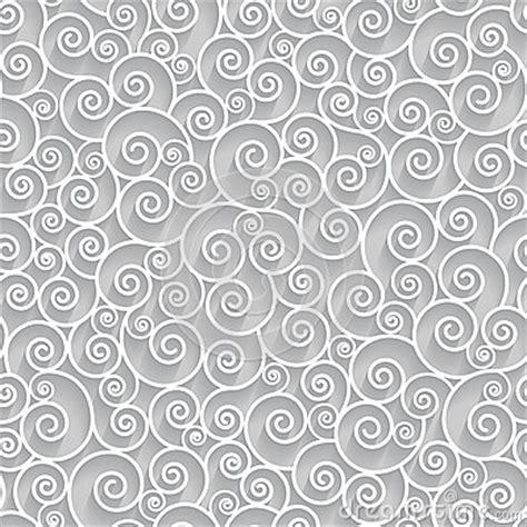 vector background pattern gray white swirls on grey background seamless pattern stock