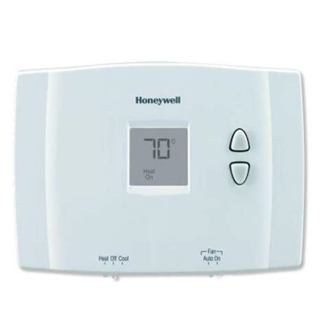 Thermostat Home Depot by Honeywell Digital Non Programmable Thermostat Rth111b The Home Depot
