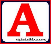 alphabet blocks block letters fonts free clip