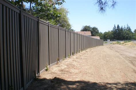 five star fence trex grey composite fence image proview