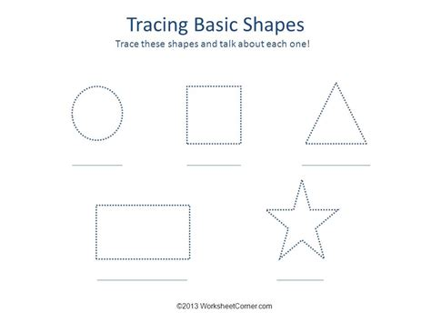 basic shapes worksheets free printable shapes for preschoolers coloring home