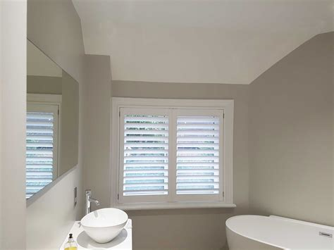 bathroom shutter blinds bathroom shutters for window of detached house in south