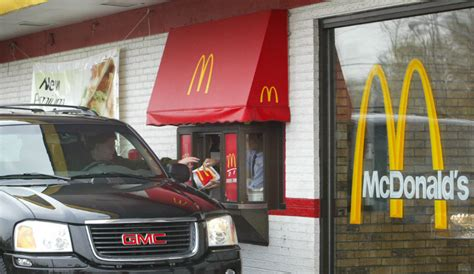 drive thru mcd mcdonald s staff fired after being accused of selling