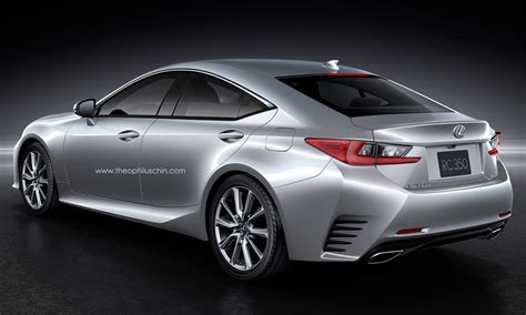 lexus sport car 4 door lexus rc gt rear