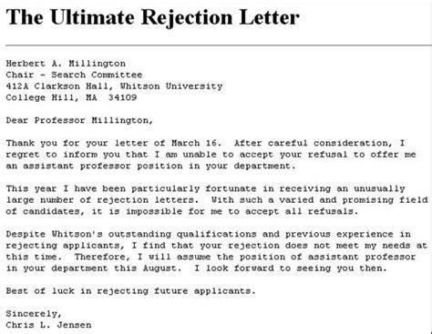 27 rejection letters template hr templates free premium