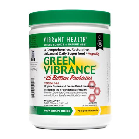 Green Vibrance Detox by Green Vibrance Choose Size Royalty Health