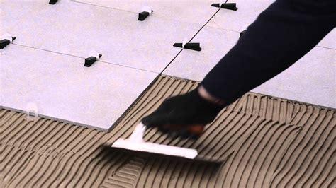 piastrelle posa posa piastrelle con distanziatori autolivellanti