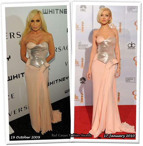 Who Wore Better Carpet Style Awards by Who Wore Versace Better Donatella Versace Or